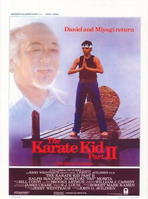 The Karate Kid: Part 2 Movie POSTER 11 x 17 Ralph Macchio, BA, USA NEW