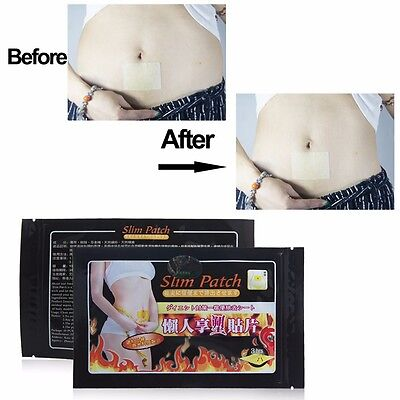 NEW Slim Slimming Weight Loss Patches Burn Fat Body Wraps Trim Pads Detox Sheet