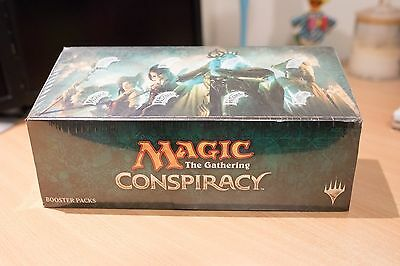 Magic The Gathering Conspiracy 2014 Sealed Booster Box New