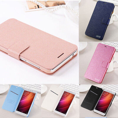 For Xiaomi Redmi 4A/Note 4X Luxury Flip Leather Slim Wallet Magnetic Case Cover
