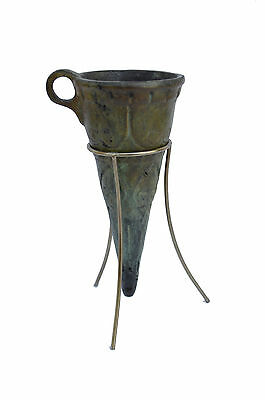 Cup Ancient Greek Bronze aged artifact sculpture