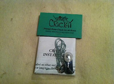 Cricket, bow string clicker draw check,  For Recurves and Longbows