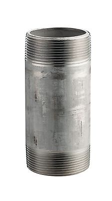 """Stainless Steel 304/304L Pipe Fitting Nipple Schedule 40 Welded 1/2"""" X 5"""" NPT..."""