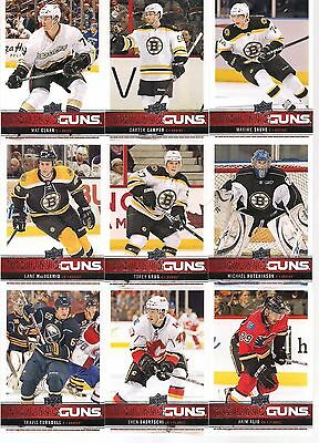 2012-13 Upper Deck Young Guns Rookie Serie 1 Set 50/50 12-13 Ud Yg Rc #201-250