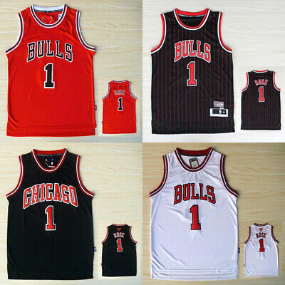 #1 Cleveland Cavaliers Derrick Rose NBA Swingman Jersey Men Adult Kid Basketball