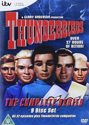 Thunderbirds Complete Series Digistack--9-Disc Box Set [DVD], Free Shipping, New