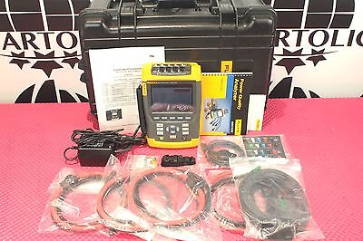 *NEW* Fluke 435 Three Phase Power Quality Analyzer w/ Interharmonics Inrush
