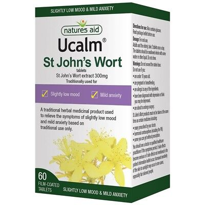 Nature's Aid Ucalm 300mg Tablets 60
