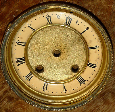 French Style Clock Bezel & Dial
