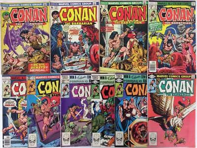 Conan the Barbarian Bronze Age job lot. 10 x classics from 1973 onwards.