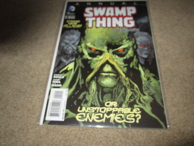 Swamp Thing Annual #2 VF New 52