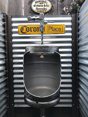 Beer Keg Urinal