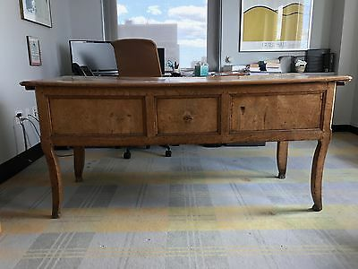 French provincial antique desk