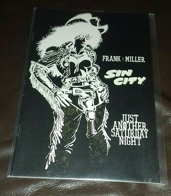 Dark Horse Comics Sin City Just Another Saturday Night