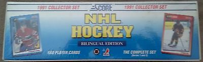 1991-92 Score Bilingual Edition Hockey Complete Boxed Set - FACTORY SEALED