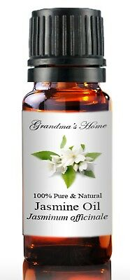 Jasmine Essential Oil - 10 mL 100% Pure and Natural Free Shipping - US Seller