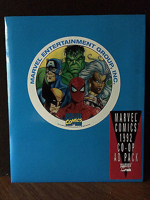 Marvel Comics 1992 CO-OP AD PACK for Retail store advertising Mint