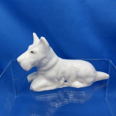 Antique Half Doll Scotty or West Highland Terrier Doll