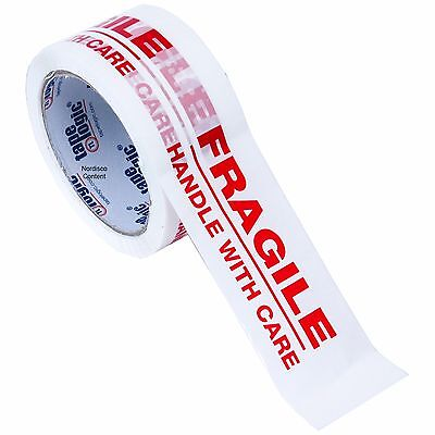"""Tape Logic T901P02 Fragile Tape, Packing Tape, 2"""" x 55 Yd. Roll, 2.2 Mil"""