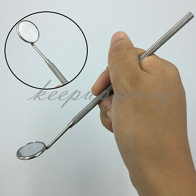 New Dental Mirror Dentist Handle Tool for Teeth Mouth Cleaning Inspection