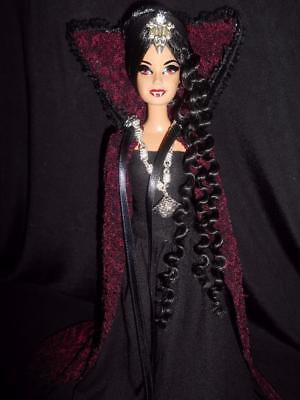 The Lair of the Vampiress ~ Vampire Dracula Dark Gothic barbie doll ooak custom