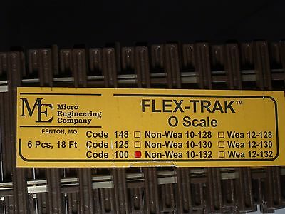 O-Scale Micro-Engineering  #10-132 Flex-Track Code 100 Non Weathered