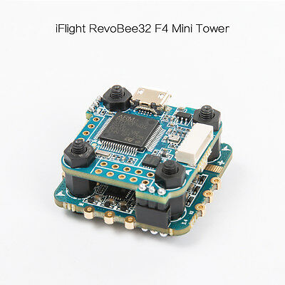 iFlight Mini Revobee32 F4 32K Flight Controller + 18A 4in1 ESC FPV Tower System