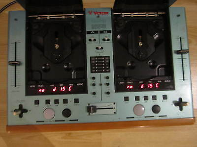 Vestax cdx-12 cd player mixer DJ pitch control Made in Japan