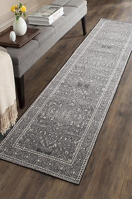 Hallway Runner Hall Runner Rug Modern Grey 4 Metres FREE DELIVERY Edith 261