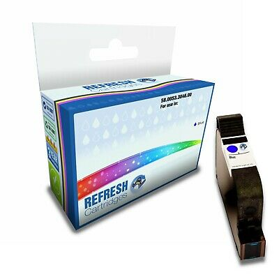 Remanufactured (Non Genuine) 58.0053.3046.00 Blue Ink Cartridges For Francotyp P