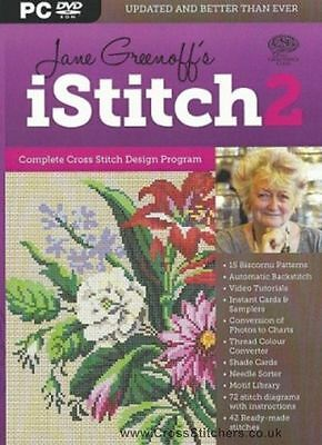 iStitch 2 - Jane Greenoff's LATEST Cross Stitch Design Software