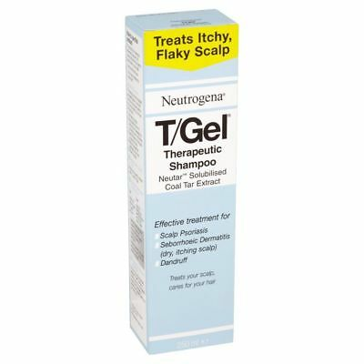 Neutrogena T/Gel Therapeutic Itchy Scalp Psoriasis And Dandruff Shampoo 250 ml