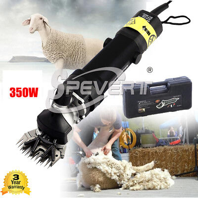 350W Electric High Power Sheep Shearing Clipper Shear Goats Alpaca Farm Shears