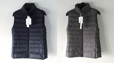 NWT UNIQLO 2016AW Women Ultra Light Down Vest wPouch Japan M-L US/EU XS-M