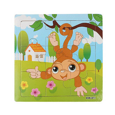 Toys Monkey Wooden Puzzle for Puzzles Education and Children's Learning Toys