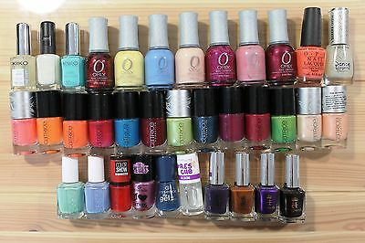 Lot 35 vernis à ongles Kiko Orly Opi Catrice Essie Maybelline A England
