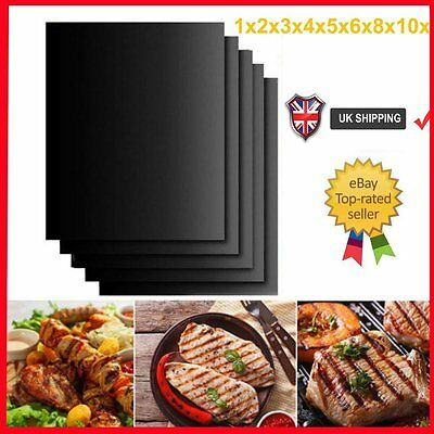 5X10X BBQ Grill Mat Reusable Resistant Non-Stick Barbecue Baking Sheet Cooking