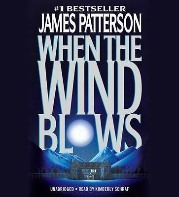 When the Wind Blows by James Patterson (2016, CD, Unabridged) BRAND NEW