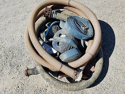 Wacker Trash Pump TC-3 with Pallet Lot of hoses and fittings