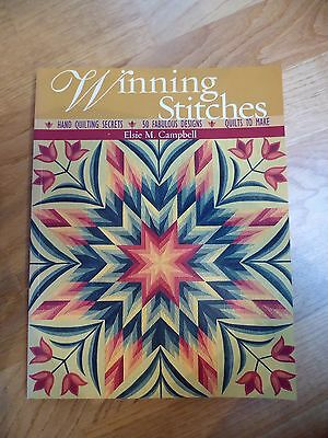 Patchworbuch: Winning Stitches, Elise M. Campbell