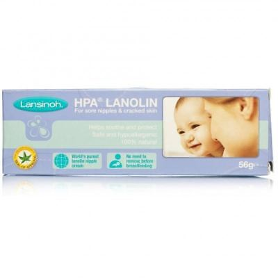 Lansinoh Lanolin | Soothes & Treats Cracked Nipples 56g 1 2 3 6 12 Packs