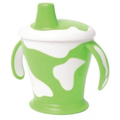 Haberman Anywayup Cow Cup Green 250ml 1 2 3 6 12 Packs