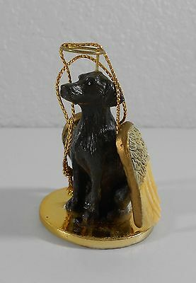 German Shorthaired Brown Pointer Dog Angel Wings Christmas Ornament Pet Figurine