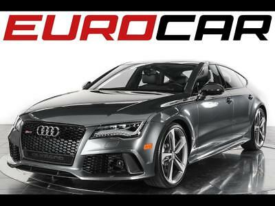 2014 Audi RS7 4.0T quattro Prestige 2014 Audi RS7 4.0T quattro Prestige Sedan - Fully Loaded w/ Carbon-Optic Package