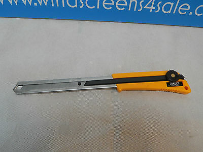OLFA WINDSCREEN REMOVAL FITTING TOOL LONG CUTTER WITH 18mm RETRACTABLE CUTTER