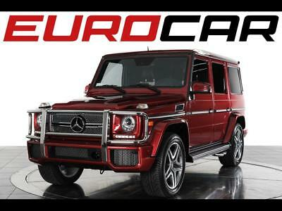2016 Mercedes-Benz G-Class AMG G65 2016 Mercedes-Benz AMG G65 - Special Ordered Paint, AMG Sport Seats