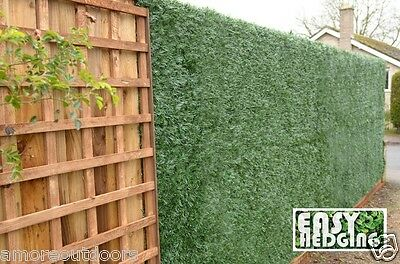 Artificial Conifer Hedge Plastic Fencing Garden Privacy Screening Roll 3m x 1m