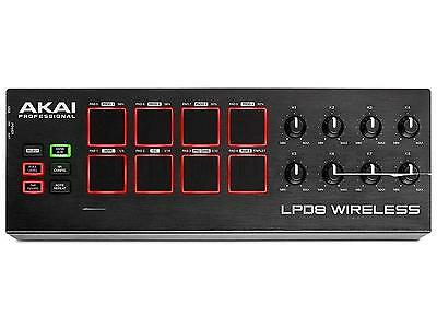 AKAI LPD8 Wireless CONTROLLER MIDI USB BLUETOOTH 8 pad retroilluminati