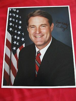 Senator Evan Bayh signed autographed 8x10 Photo Indiana