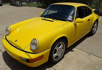 1993 Porsche 911 RS America Coupe 2-Door 1993 Porsche FLY 911 RS America/1 OF 4/COA/30,873mi/SpecOrder/'93NYAutoShow/L@@K
